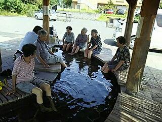 生駒の足湯