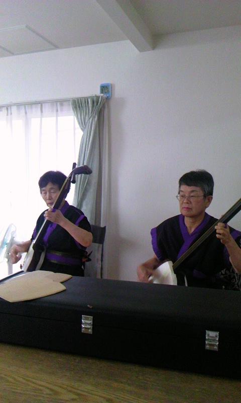津軽三味線の演奏