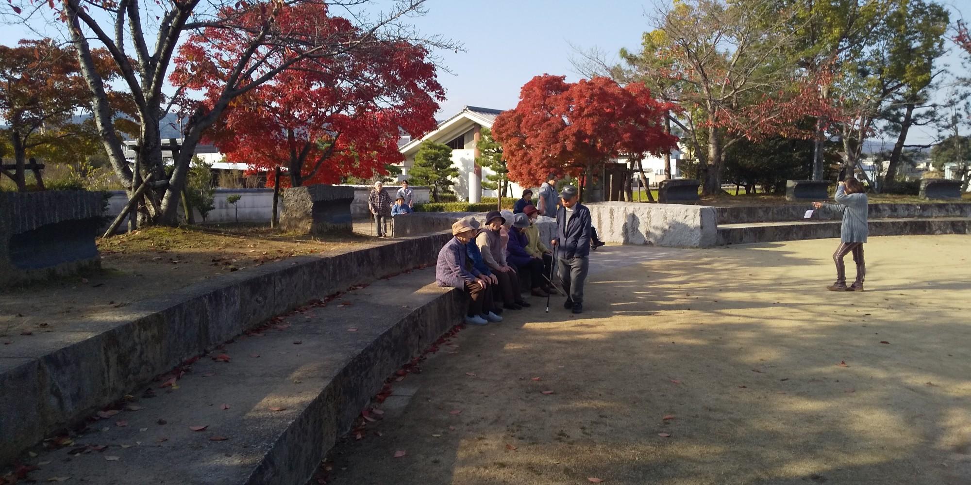 近所の紅葉がキレイです(≧▽≦)
